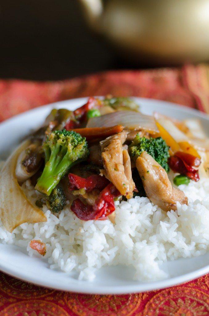 Chicken Stir Fry | Go Go Go Gourmet @gogogogourmet