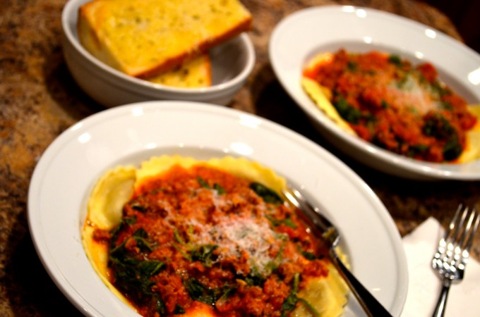 Hot Sausage, Spinach & Tomato Sauce
