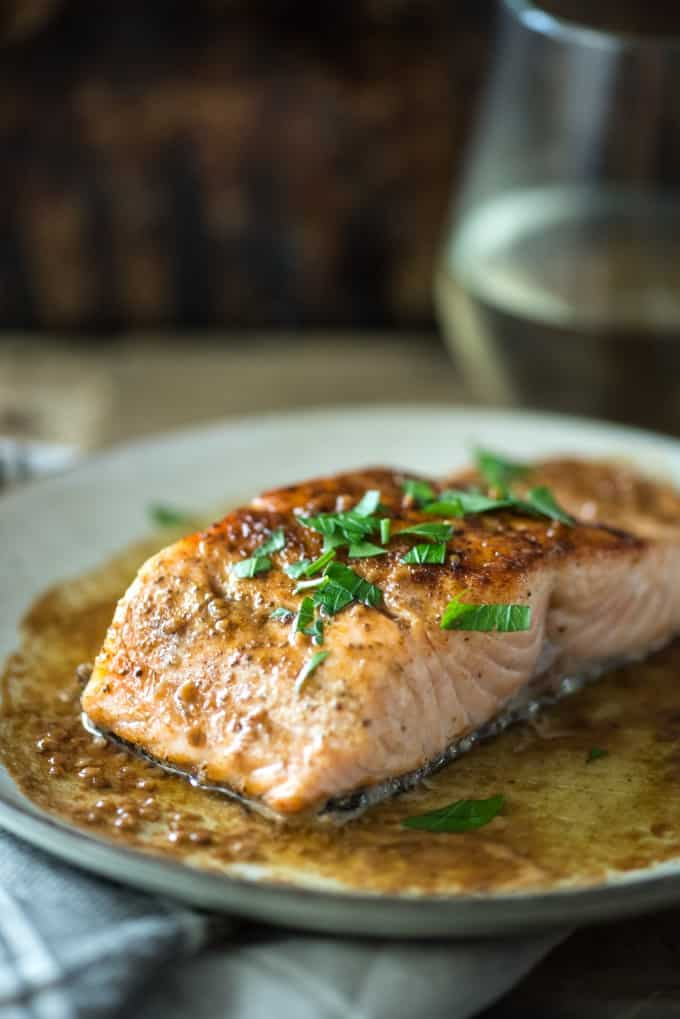 Pan Seared Salmon recipes | @gogogogourmet