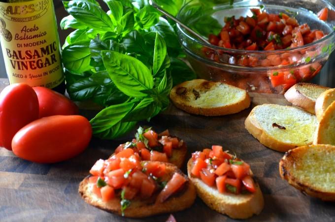 Tomato-Basil Bruschetta