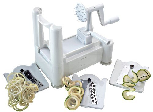 Spiral Vegetable Slicer (Paderno Spiralizer Review)