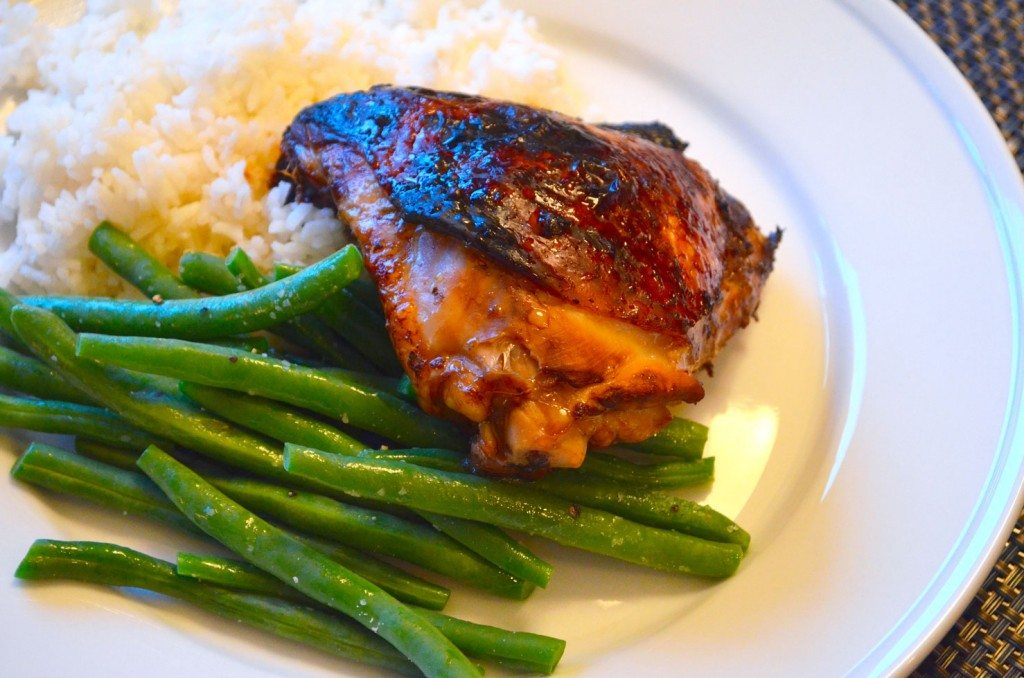 Soy-Glazed Chicken Thighs