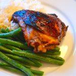 Soy-Glazed Chicken Thighs