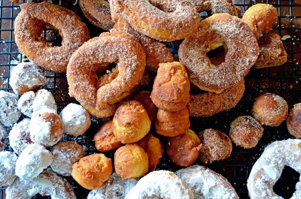 Weekend Brunch: Cake Doughnuts
