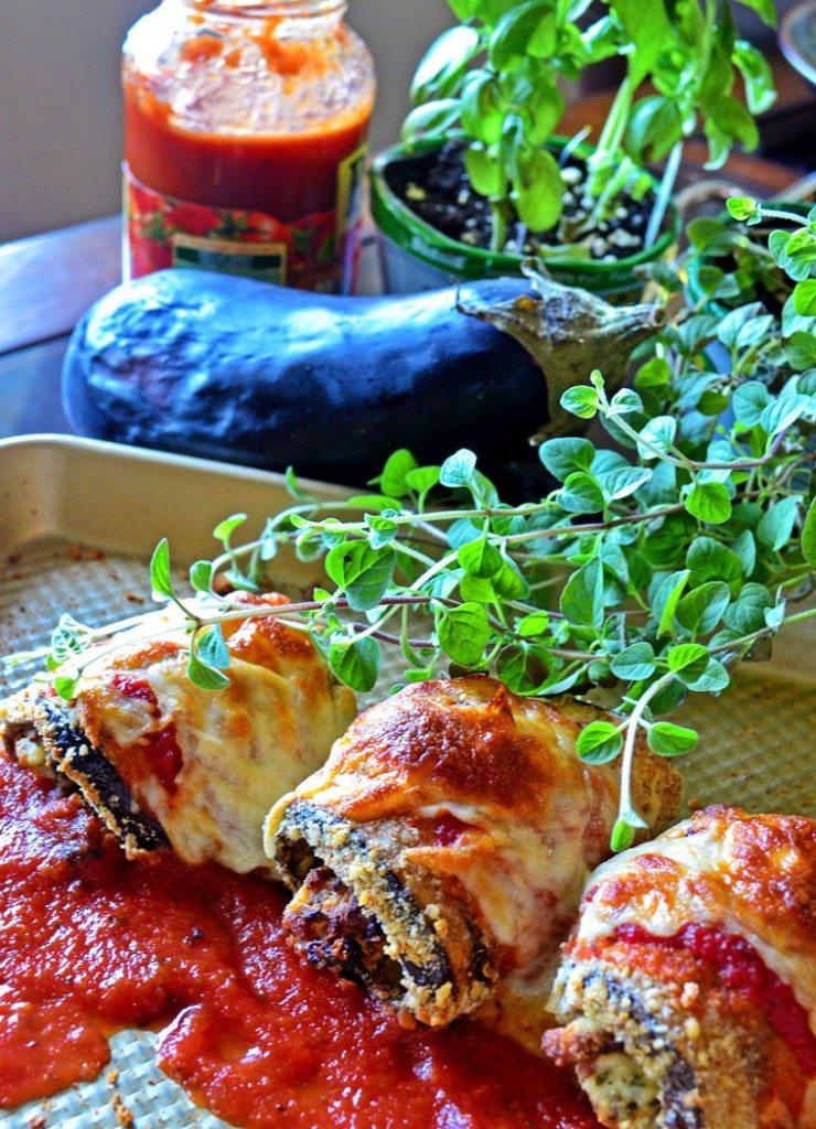 Eggplant Rollatini | Go Go Go Gourmet @gogogogourmet