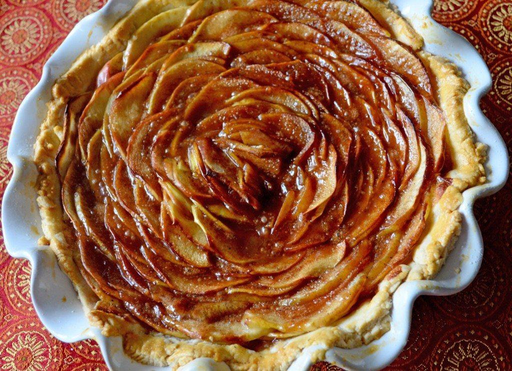 Rosette Apple Pie | Go Go Go Gourmet @gogogogourmet