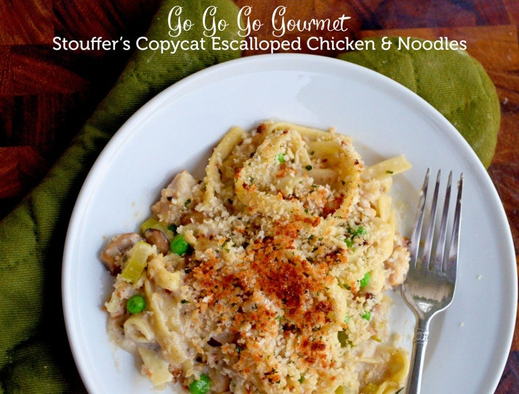 Stouffer's Copycat Escalloped Chicken and Noodles | Go Go Go Gourmet