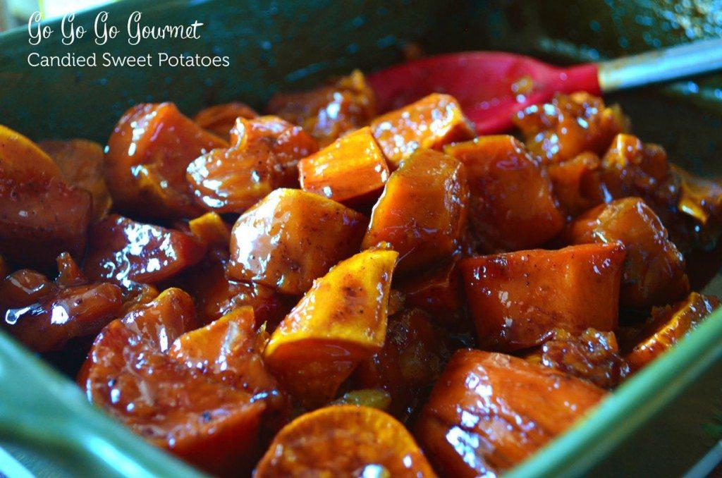 Candied Sweet Potatoes   Go Go Go Gourmet @gogogogourmet