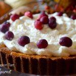 Ginger Pumpkin Tart | Go Go Go Gourmet @gogogogourmet