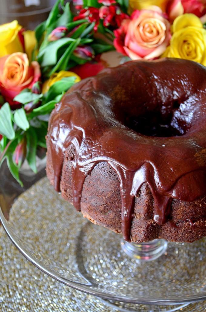 Dinner Party Delights Chocolate Kahlua Cake Go Go Go Gourmet