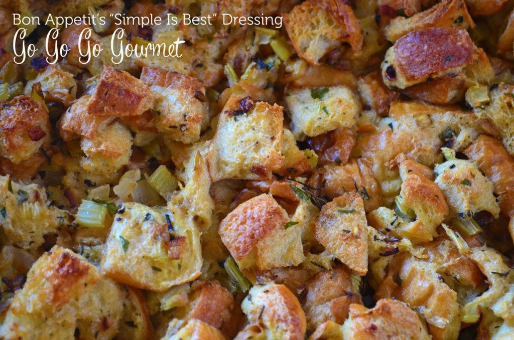"""""""Simple is Best"""" Thanksgiving Stuffing 