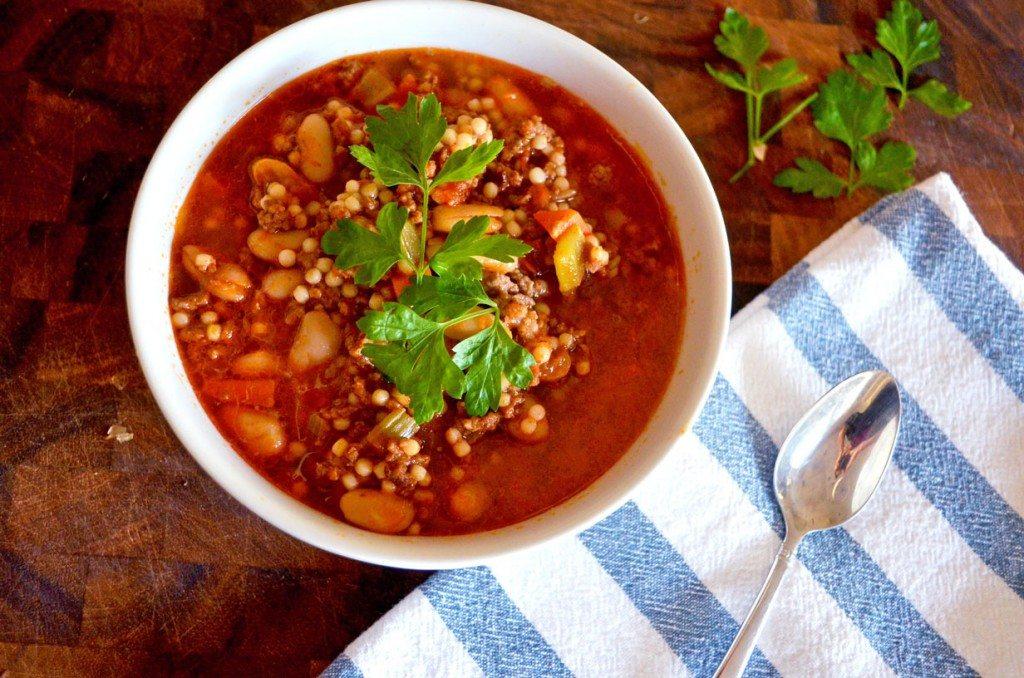 Copycat Olive Garden Pasta e Fagiole Soup | Go Go Go Gourmet