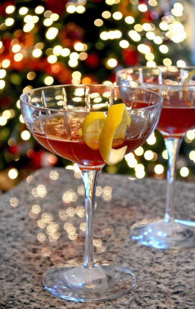 Classic Cocktails: The Manhattan | Go Go Go Gourmet