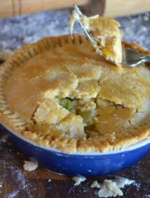 Turkey Pot Pie | Go Go Go Gourmet @gogogogourmet