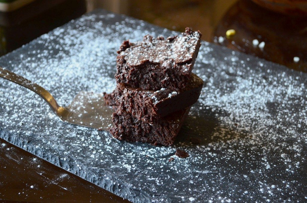 Decadent Fudge Brownies | Go Go Go Gourmet