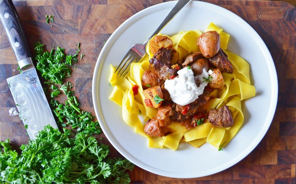 Crockpot OR Stovetop prep on this Hungarian Beef Goulash | Go Go Go Gourmet