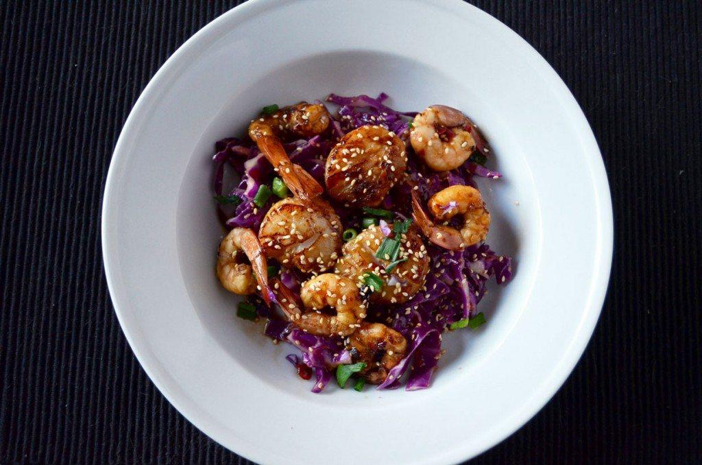Quick  & Easy Asian-Marinated Shrimp & Scallops | Go Go Go Gourmet