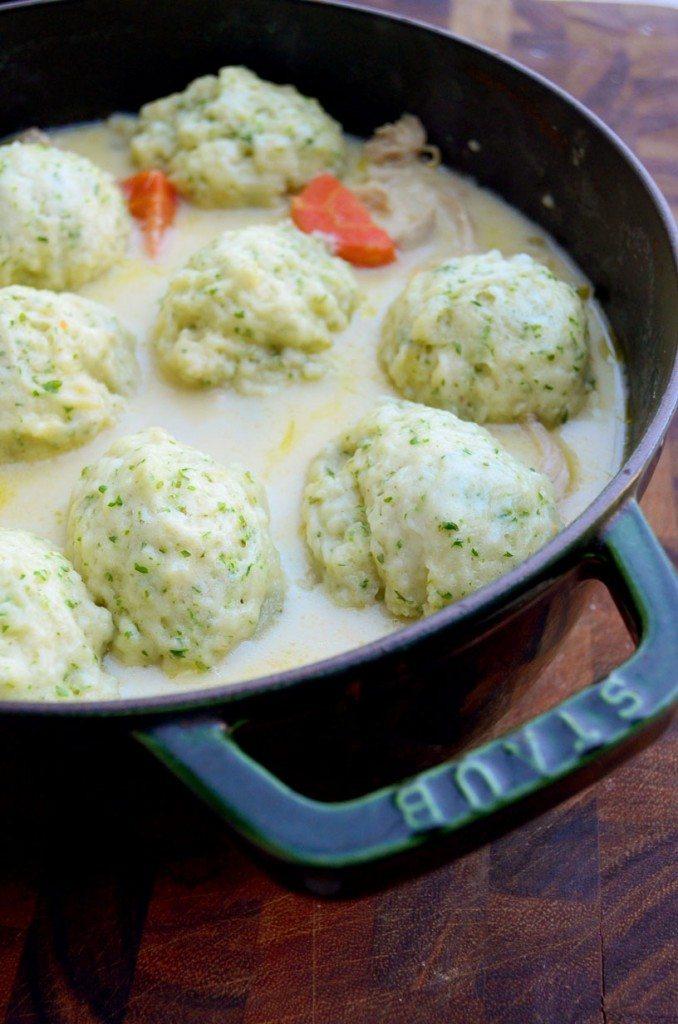 Crockpot or Stovetop Chicken & Dumplings | Go Go Go Gourmet