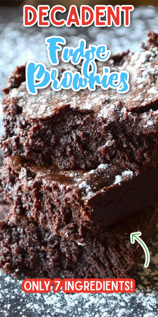 Forget the box mix, these easy homemade Fudge Brownies are made from scratch! They are chewy, gooey and totally decadent and delicious. You won't find a better brownie recipe than these! #gogogogourmet #fudgebrownies #homemadebrownies #browniesrecipe via @gogogogourmet