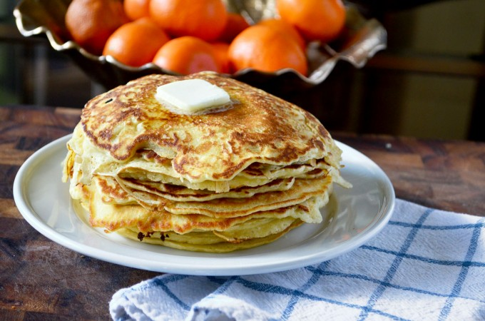 Crispy and Thin Pancakes Go Go Go Gourmet
