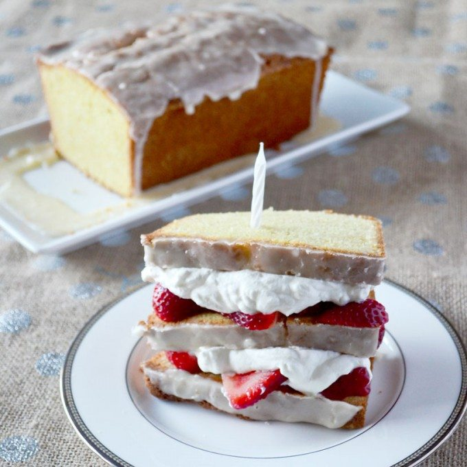 {Orange Pound Cake} Happy Birthday, Go Go Go Gourmet!