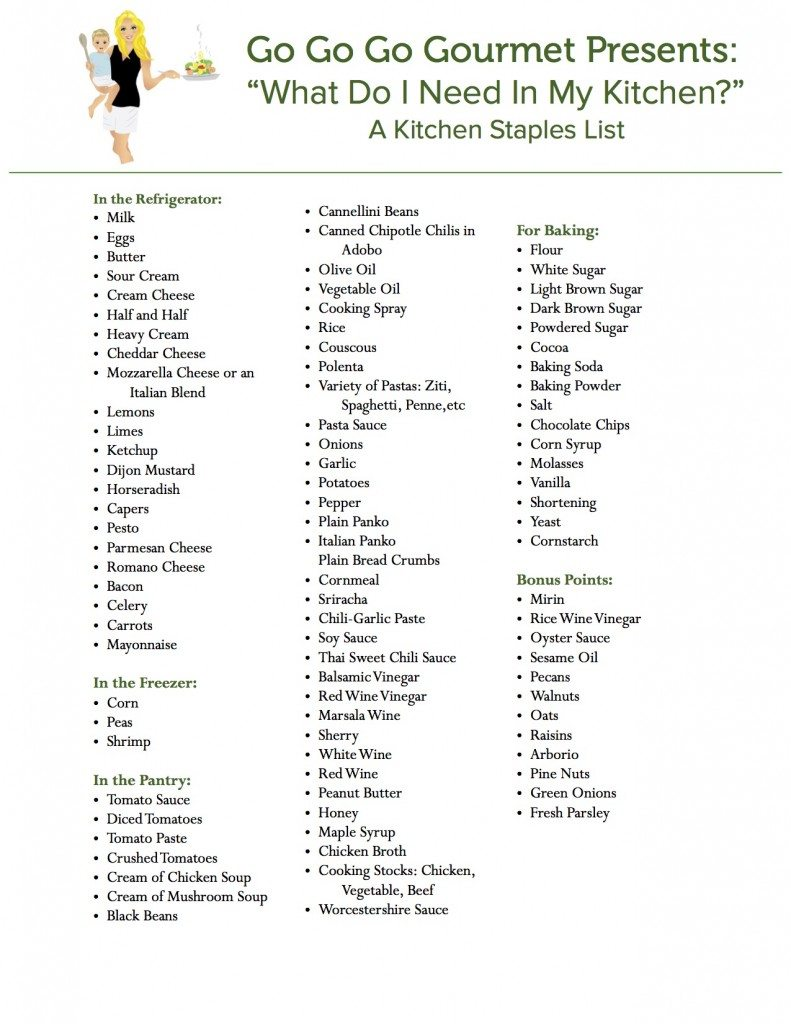 GGGG Kitchen Staples