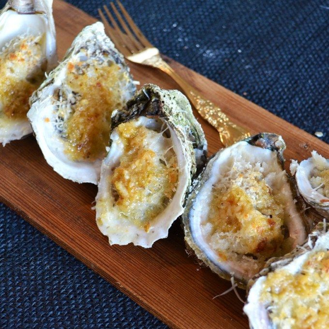 Key Lime Garlic Oysters | Go Go Go Gourmet