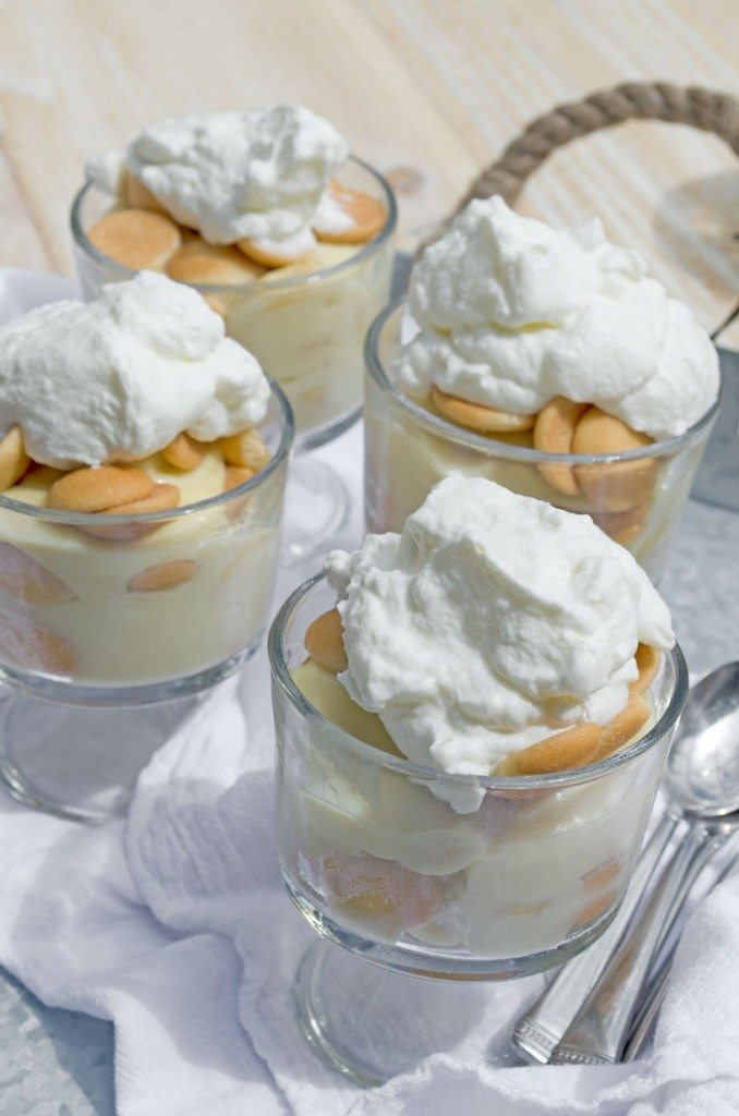 Individual Banana Puddings | Go Go Go Gourmet @gogogogourmet