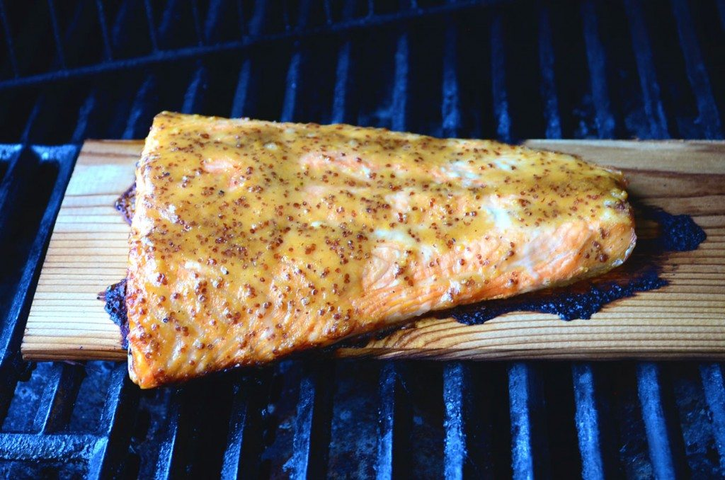 Cedar Planked Grilled Salmon | Go Go Go Gourmet @gogogogourmet