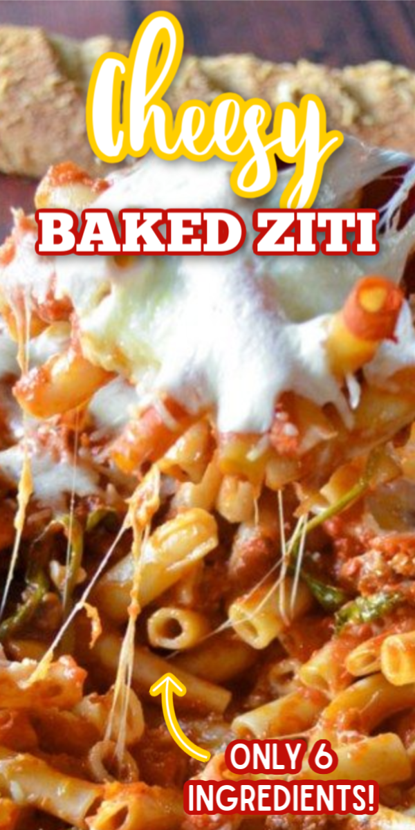 This easy Baked Ziti recipe with Italian sausage is even better than the Pioneer Woman recipe! You can easily double this recipe to make dinner for a crowd. It really is the best pasta recipe! #gogogogourmet #bakedziti #easypastarecipe #italiandinnerrecipes via @gogogogourmet