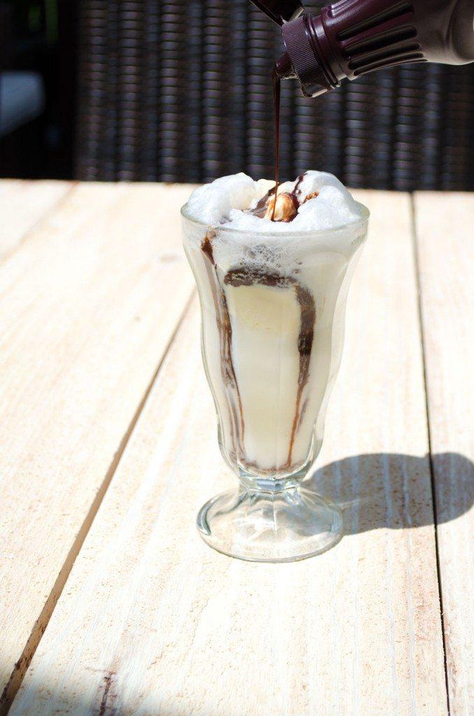 Chocolate Ice Cream Soda | Go Go Go Gourmet @gogogogourmet