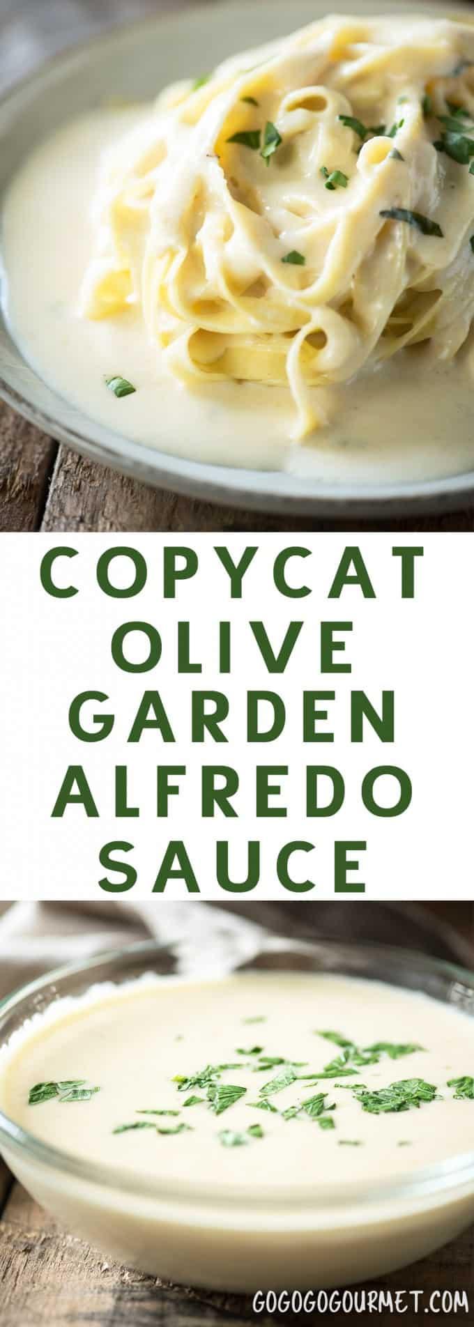 Copycat Olive Garden Alfredo Sauce Go Go Go Gourmet
