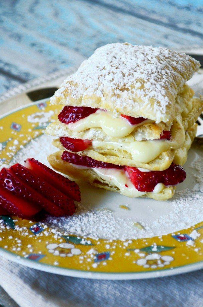 Strawberry Napoleon | Go Go Go Gourmet @Gogogogourmet