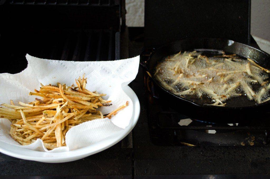 Parmesan Herb Fries | Go Go Go Gourmet @gogogogourmet