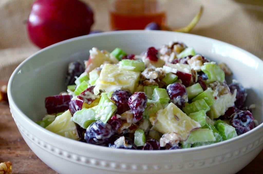 Best Waldorf Salad Recipe With Yogurt