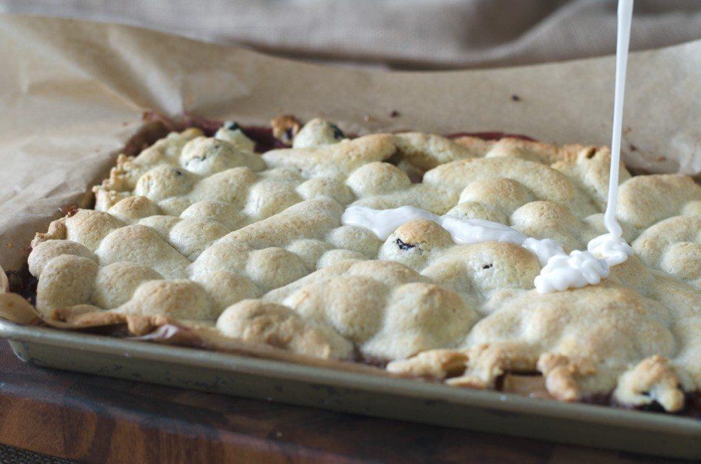 Apple Cherry Cookie Bars   Go Go Go Gourmet @gogogogourmet