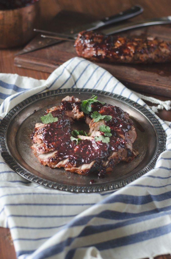 Blackberry Chipotle Barbecue Sauce | Go Go Go Gourmet @gogogogourmet