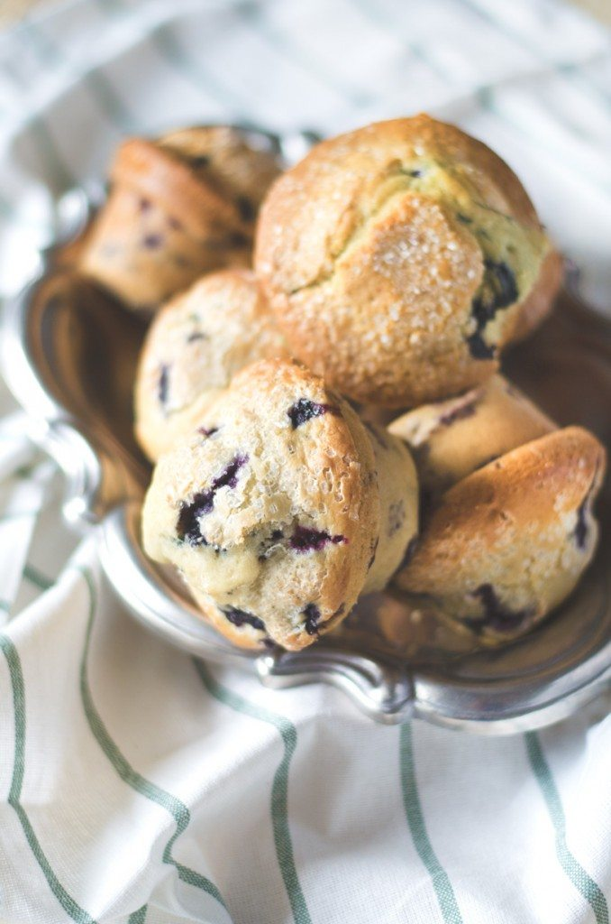 Bakery Lemon Blueberry Muffins | Go Go Go Gourmet @gogogogourmet