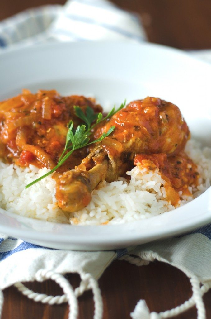 Chicken Cacciatore Recipe | @gogogogourmet