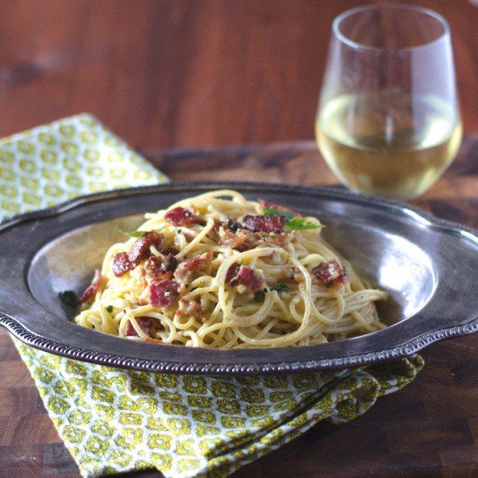 Spaghetti Carbonara | Go Go Go Gourmet @gogogogourmet