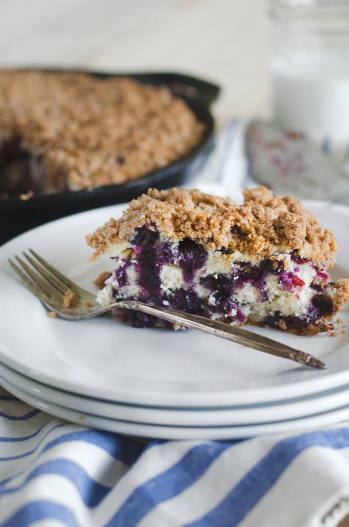 Blueberry Buckle Go Go Go Gourmet