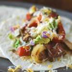 Grilled Flank Steak and Chicken Fajitas | Go Go Go Gourmet @gogogogourmet