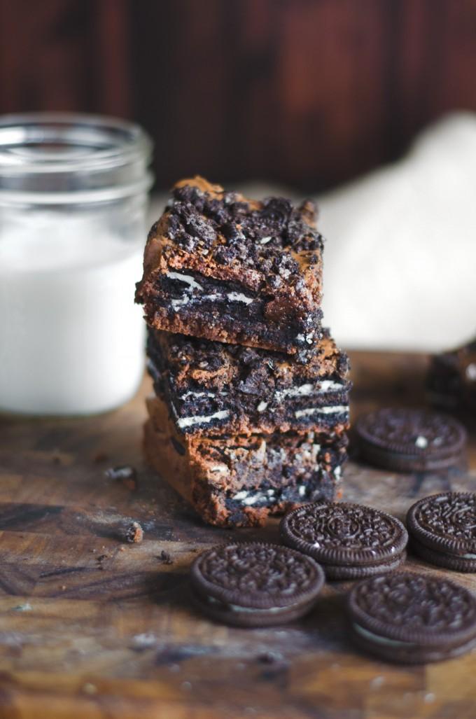 Oreo Brownies | Go Go Go Gourmet @gogogogourmet