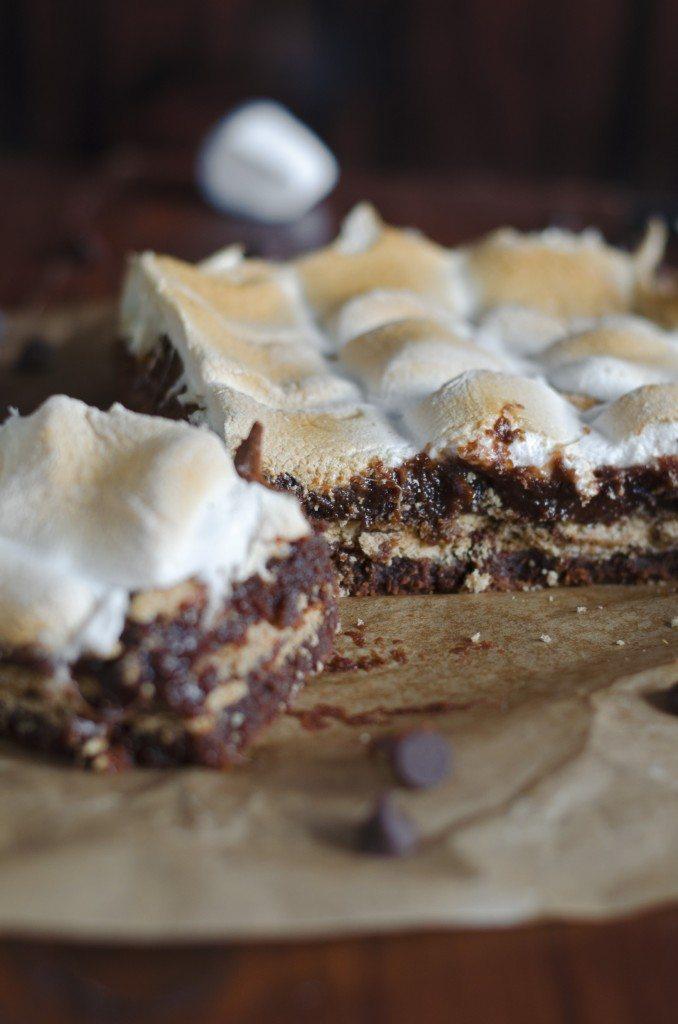 (Gimme) S'Mores Brownies | Go Go Go Gourmet @gogogogourmet