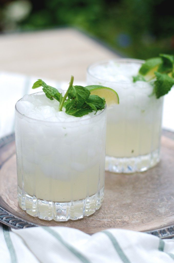 Friday at Five: The Southside Cocktail. A gin mojito! | Go Go Go Gourmet @gogogogourmet