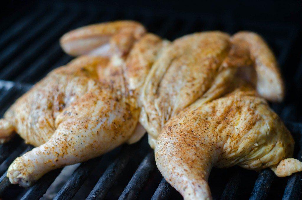 Chicken Under A Brick | Go Go Go Gourmet @gogogogourmet