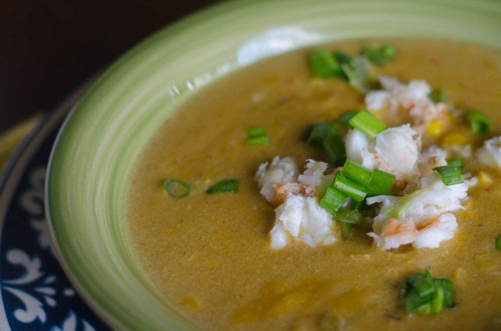 Spicy Corn and Lobster Chowder | Go Go Go Gourmet @gogogogourmet