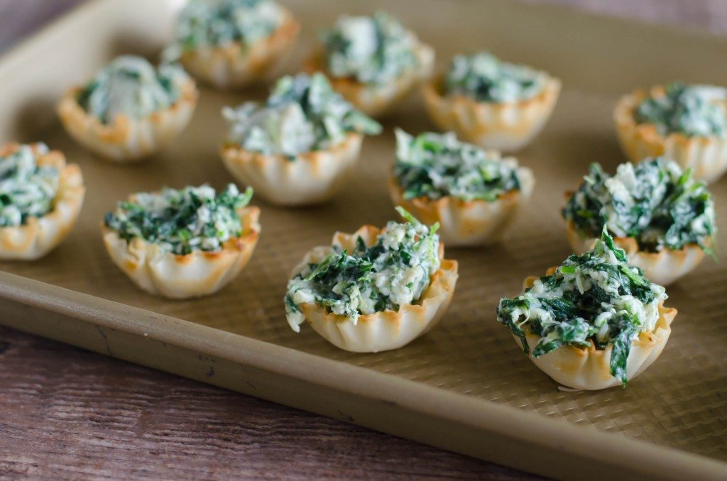 chicken appetizer in phyllo cups recipe