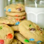 Soft and Chewy M&M Cookies | Go Go Go Gourmet @gogogogourmet
