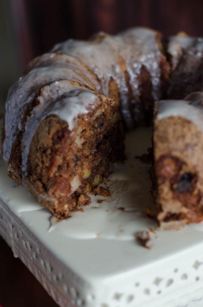 Gogogogourmet Apple Walnut Cake